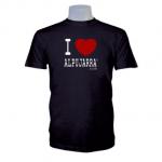 Camiseta negra. I Love Alpujarra