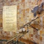 Fuente del Vino de Cádiar, detalle parte posterior