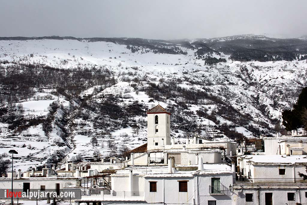 Capileira nevada