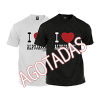 Camisetas. I Love Alpujarra