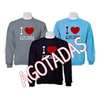 Sudaderas basicas. I Love Alpujarra