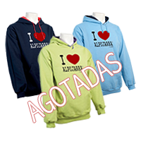 Sudaderas capucha. I Love Alpujarra